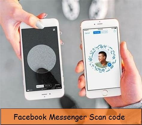 how to start a chat on iphone how to start chat using scan code on iphone messenger