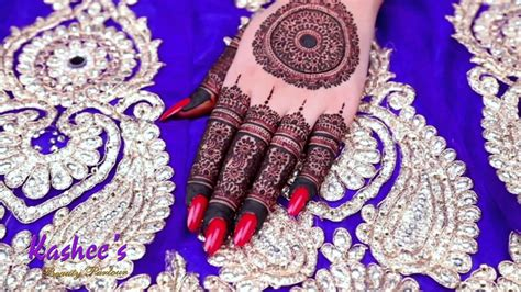 And that's the main reason our mehndi art is always so. KASHEE`S SIGNATURE MEHNDI - YouTube