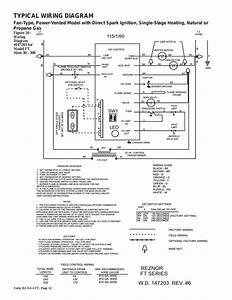 Gas Heater Thermostat Wiring Diagram