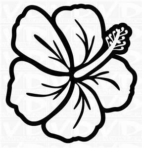 Hawaiian Flower Clip Art Clipart - Free Clipart | drawing ...