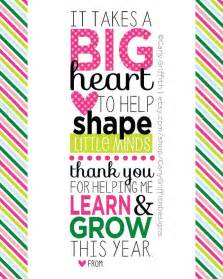 Printable Teacher Appreciation Quote
