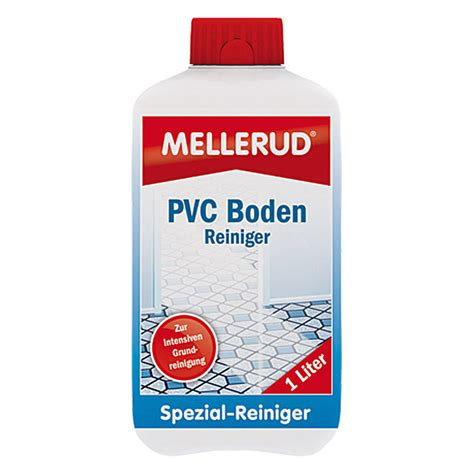 Pvc Boden Mit Chlor Reinigen mellerud pvc bodenreiniger 1 l flasche bauhaus