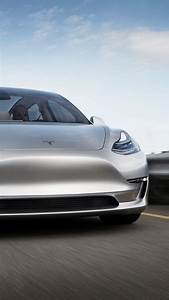 Wallpaper Tesla Model 3 Prototype, electric cars, sedan