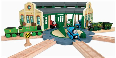 tidmouth sheds wooden turntable fisher price the wooden railway tidmouth