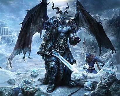 Monster Background Demon Angel Dark Epic Warrior