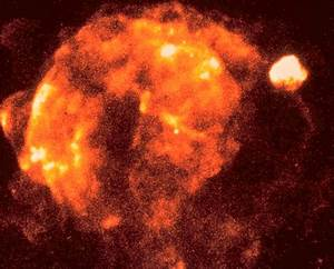 Vela Supernova Remnant in X-ray