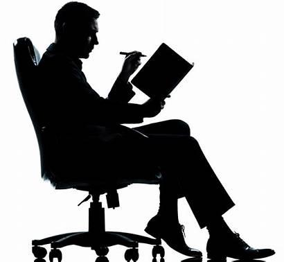 Silhouette Writer Teacher Che Donna Nemmeno Escribir