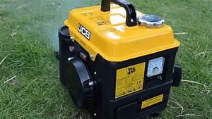 Hd  Jcb 850w Two Stroke Portable Generator - Cold Start