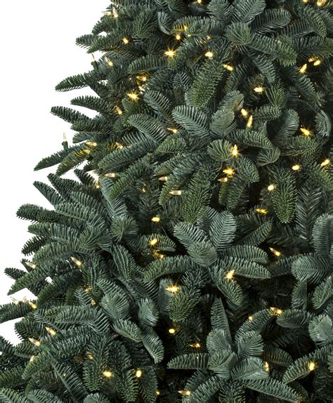 ft deluxe noble fir snap pre lit led christmas tree