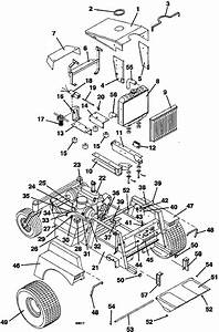 Tractor Assembly Model 721d 1993