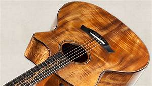 Taylor Acoustic Guitar Photography - ma