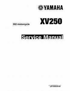 1989 Yamaha Xv250w Wc Route 66 Virago Service Repair Manual