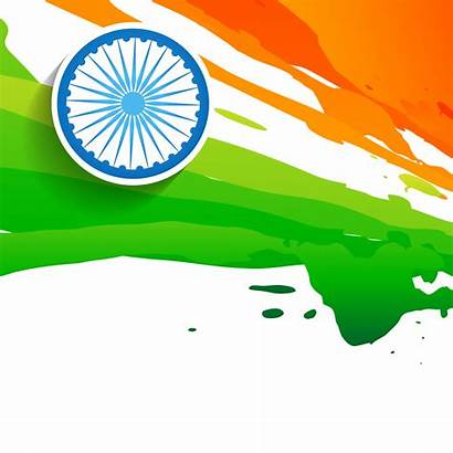 Flag Indian Vector Clipart Independence Hindustan Background