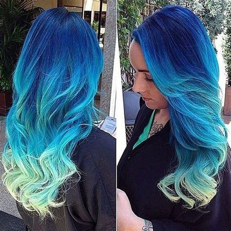 And Blue Hairstyles by These All But Beautiful Colored