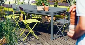 Mobilier De Jardin Fermob : table biarritz table de jardin mobilier de jardin ~ Dallasstarsshop.com Idées de Décoration