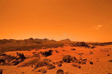 Mars Sand Background