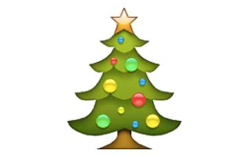 christmas tree emoji power rankings december s top 25