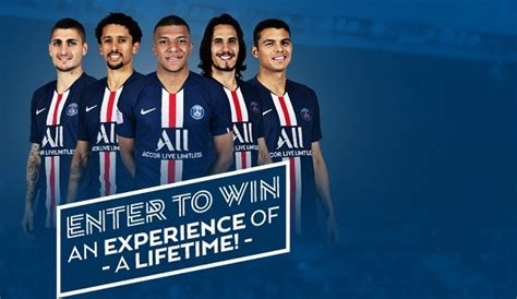 Win Tickets To PSG Home Game For Ligue 1! | Win a trip ...