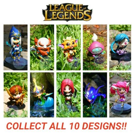 League Of Legends Mini Figures Shopee Philippines