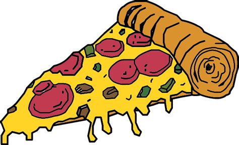 Pizza Cartoon Clipart