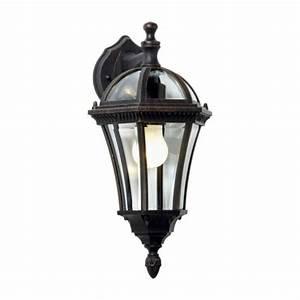 Luminaire Exterieur Pas Cher : inspire jaipur applique d 39 ext rieur brun patin h42 ~ Dailycaller-alerts.com Idées de Décoration