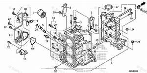 Honda Outboard Parts By Hp  U0026 Serial Range 60hp Oem Parts