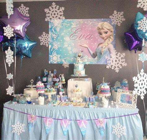 idee deco anniversaire reine des neiges