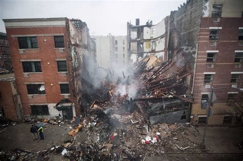 Multiple Fatalities Reported After Nyc Buildings Collapse In Explosion Marismas Apartments Fuerteventura How To Turn On A Heater In Apartment Smoke Detectors Living Studio Bathroom Decor Commodore Hollywood Downtown Annapolis Castle Icmeler