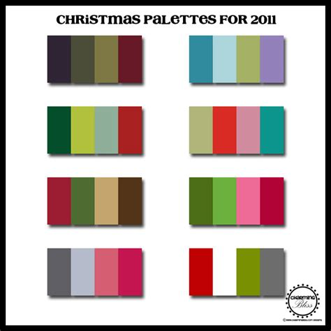 christmas color schemes charming bliss charming bliss blog new christmas color palettes for 2011