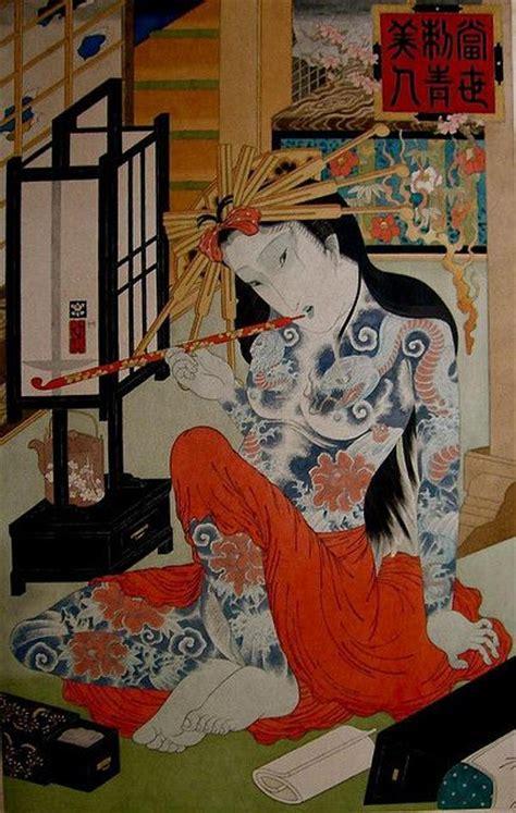 yakuza women images  pinterest