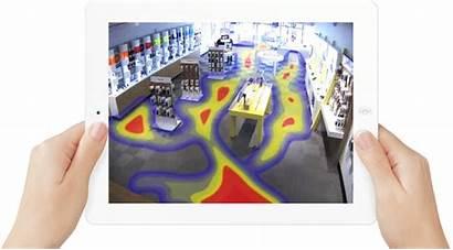 Analytics Retail Map Heat Heatmap Traffic Cctv