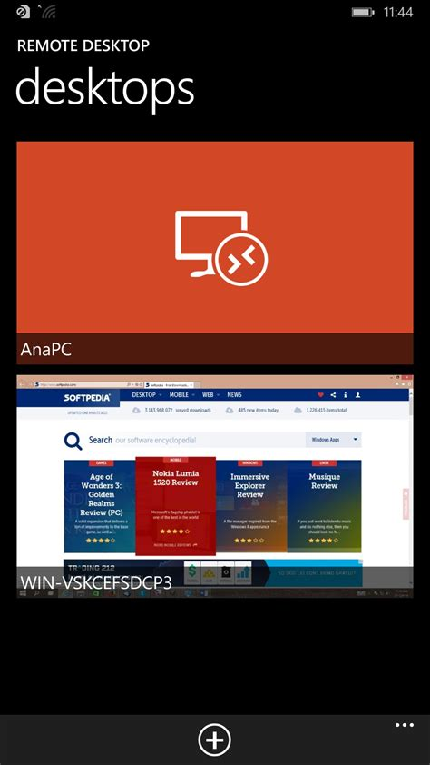 Microsoft Remote Desktop Preview Updated on Windows Phone 8.1