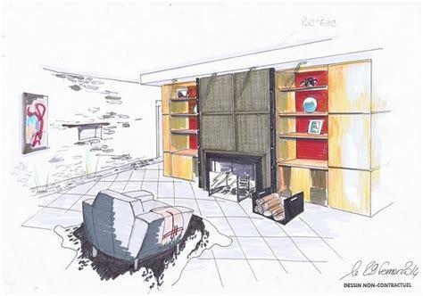dessiner en perspective une cuisine banque dimages un d dessin simple point ligne perspective