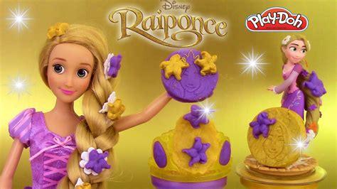 p 226 te 224 modeler scintillante raiponce accessoires princesses disney rapunzel sparkle play doh
