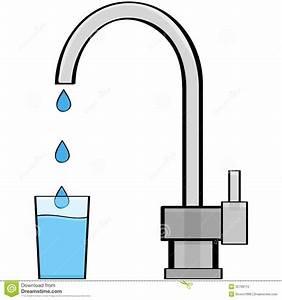 Tap water stock vector. Illustration of drink, cartoon ...
