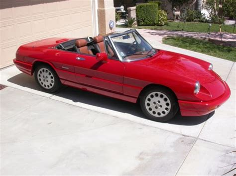 1993 Alfa Romeo Spider For Sale by 1993 Alfa Romeo Spider Veloce S4 57k 5speed For Sale