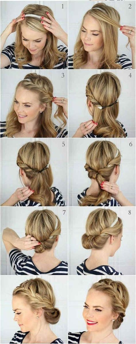 bun hairstyles   wedding day  detailed steps