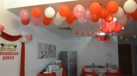 Birthday Party Decorations Idea  Youtube