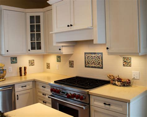 Abeers Kitche Tile Backsplash In Canada  Traditional