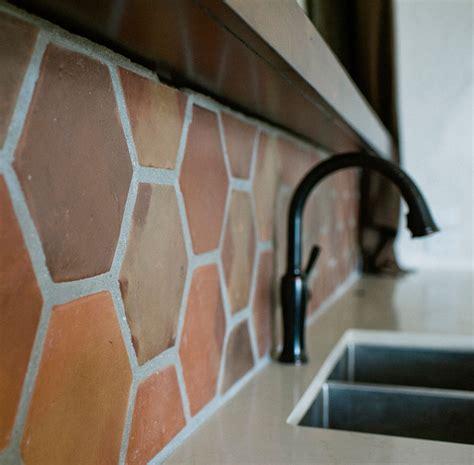 terracotta backsplash kitchen splashback ideas chambers 2694