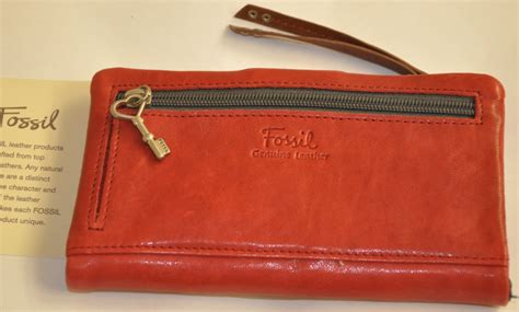 authentic fossil reseller malaysia fossil red purse sold