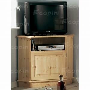 Meuble En Angle : meuble tv d 39 angle en pin malmo ecopin meubles en pin ~ Edinachiropracticcenter.com Idées de Décoration