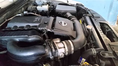 nissan xterra  motor accelerate youtube