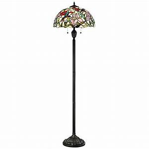 quoizel hummingbird vintage bronze tiffany style floor With tiffany hummingbird floor lamp
