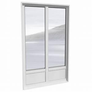 cad und bim objekte porte fenetre 2 vantaux alu avec With porte fenetre 3 vantaux