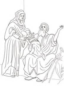 baby jesus   temple coloring page  printable