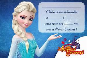 Joyeux Anniversaire Reine Des Neiges : invitation anniversaire reine des neiges a imprimer ~ Melissatoandfro.com Idées de Décoration