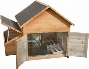 Nid Pour Poulailler : abri en bois multi usage pour volailles ~ Premium-room.com Idées de Décoration