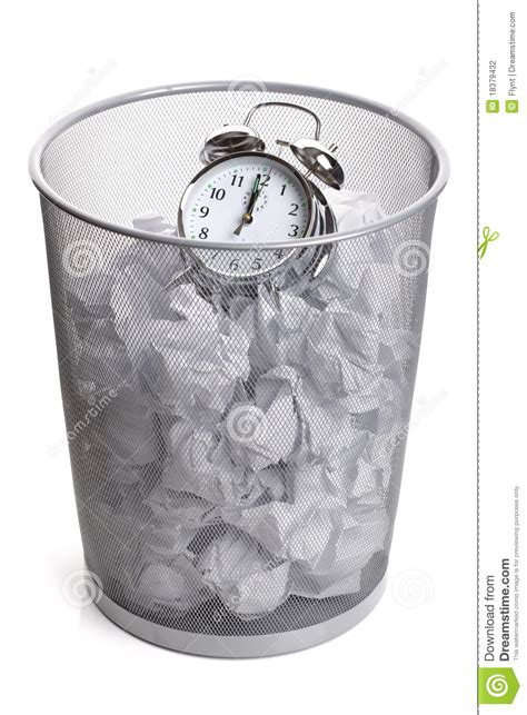wasting time stock photography image