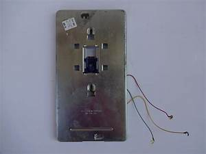 554 Modular Jack Wall Plate For Western Electric   Itt And